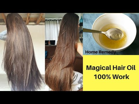 Apply This Oil Once a Week & Your Hair Will Never Stop Growing