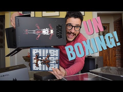 STAR WARS DRONE UNBOXING!!!