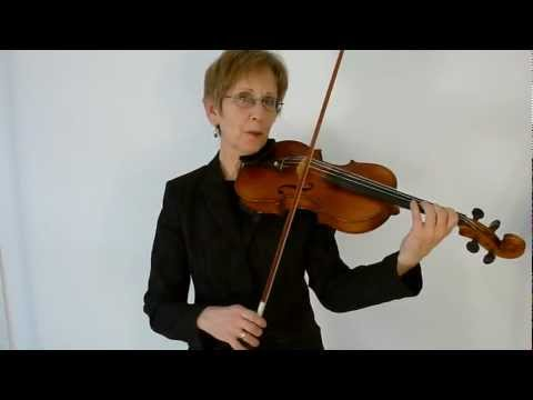 Violin Class 38: Fast passage work practice tips