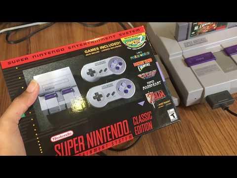รีวิว ลงเกมส์ SNES Classic / Super Famicom mini