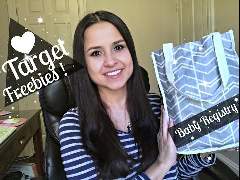 2017 Target Baby Registry Gift Bag with Freebies!