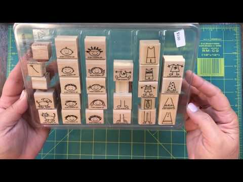 What?! Great Garage Sale find for a Stampin' Up! Lover