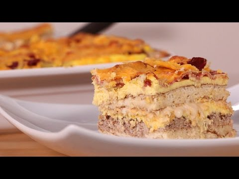 How to Make Pancake Lasagna For Breakfast