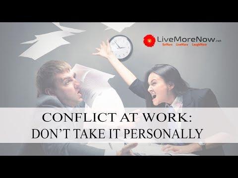 Work Conflict: 3 Quick Fixes