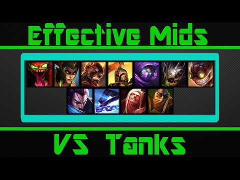(S5) Effective Mid Laners VS The Tank META