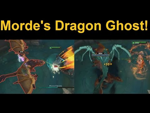 Dragon Ghost! Check Out Mordekaiser's New Giant Undead Pet!