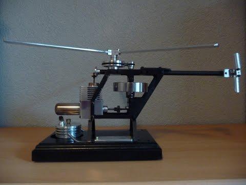 Stirling engine Helicopter