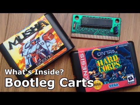 What's Inside? - Mega Drive/Genesis Bootleg Cartridges - Pirate Games