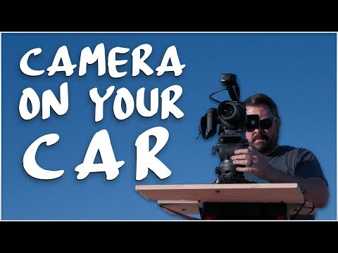 Low Angles & Strapping your Camera to a Car