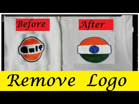 How To Remove Logo from T-Shirt at Home || Easy T-Shirt Logo Remove Technique