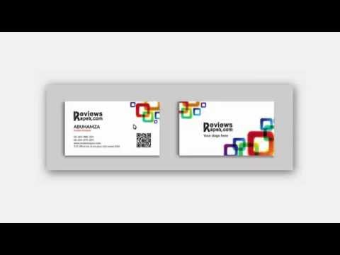White corporate identity template with color elements Download Free