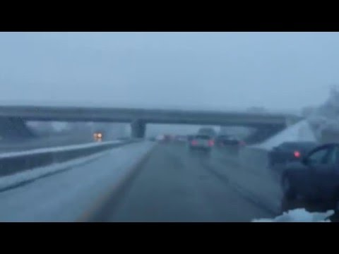 Snow Driving Fail in Utah Part 4 - easy peezy drive home