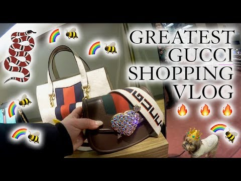 Greatest Gucci Luxury Shopping Vlog (Vancouver!) Newin Pre Spring 2018 🔥🔥🔥