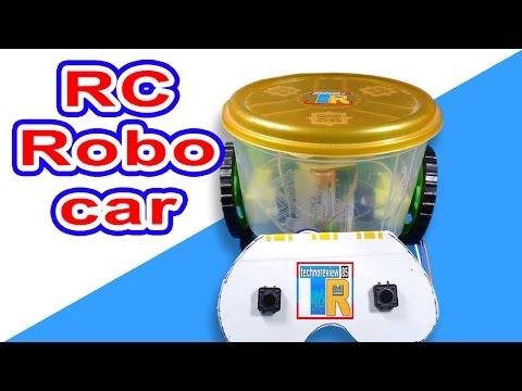 Remote control robo car|How to make at home