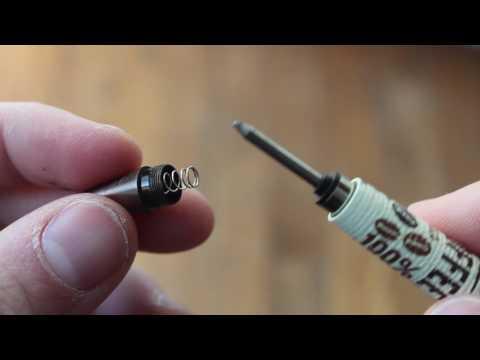 How to refill a Retro 51 Tornado Rollerball Pen
