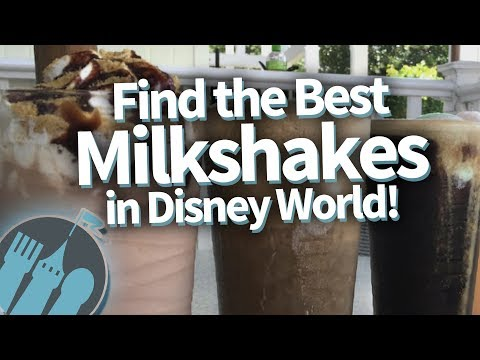 Where to find the best milkshakes in Disney World!
