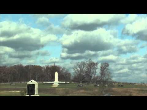 Gettysburg Battlefield Tour Part I