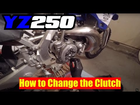 YZ250 Clutch Change (How to)