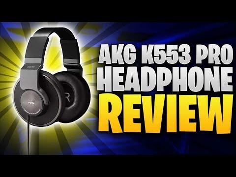 AKG K553 Pro Headphone Review
