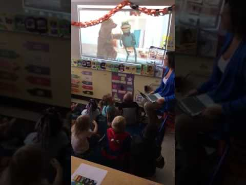 Pre-school Children Learning How to Speak Spanish and English