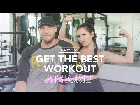 Work It out: at Home | Ashley Tisdale