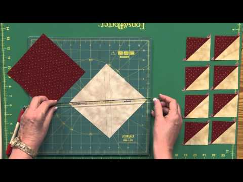 Sew Easy: 8-at-a-Time Triangle Squares