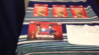 Roblox Gift Cards Codes 2017 - Gift Ideas