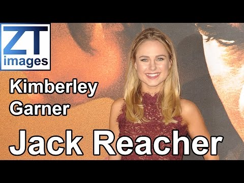 Kimberley Garner at the film premiere Jack Reacher: Never Go Back in London, UK.