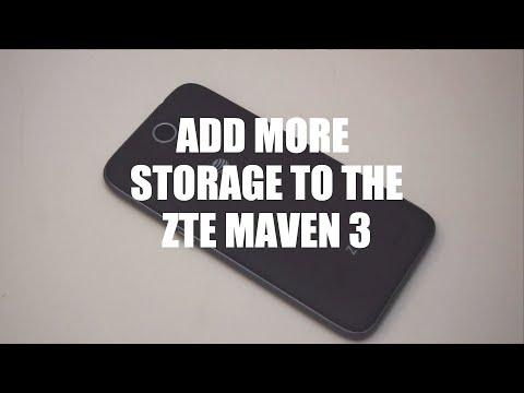 Add more storage to your ZTE Maven 3
