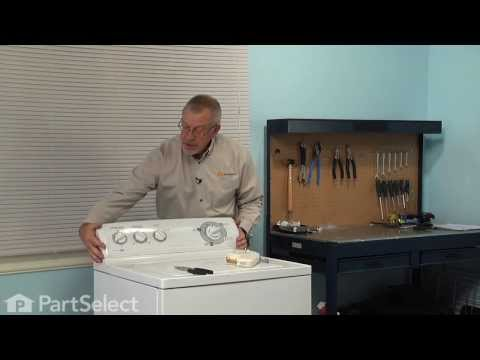 Washing Machine Repair - Replacing the Timer (GE Part # WH12X10348)