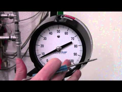 How To Fix A Pressure Gauge Pointing Off Of Zero