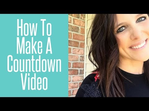 How to Use Canva and iMovie to Create a Countdown Video