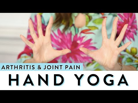 Hand yoga for arthritis and joint pain