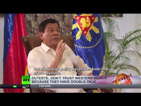Duterte: 'West is just double talk, I want more ties with Russia & China'
