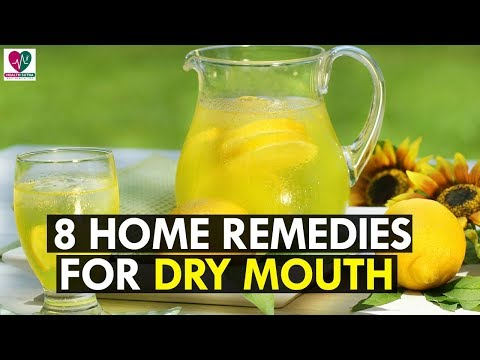 Top 8 Best Home Remedies For Dry Mouth