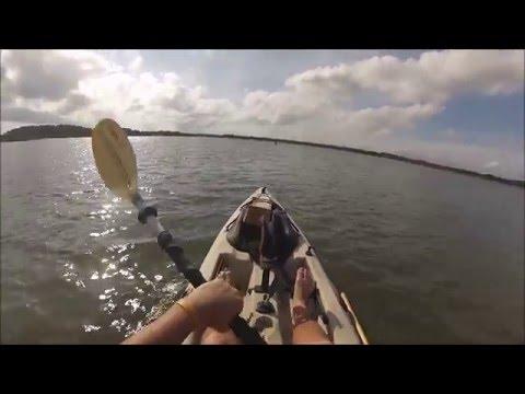 Northeast Florida fishing redfish and flounder