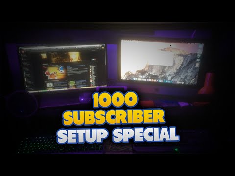 1000 Subscribers Special! Room Tour & Recording Setup!