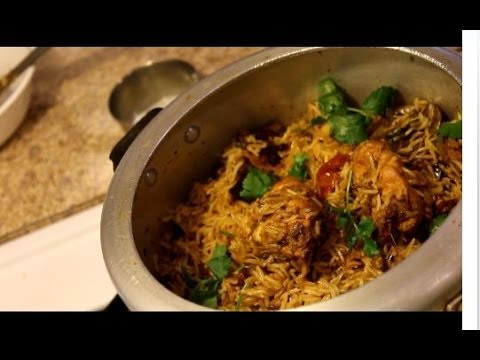 Chicken Biryani - How to make Chicken Biryani in pressure cooker--EPISODE:152