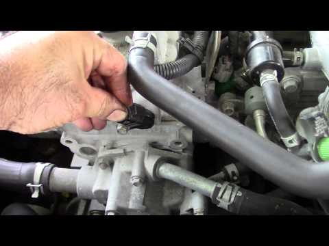 How To - Changing The 2006 Nissan Cam Position Sensor
