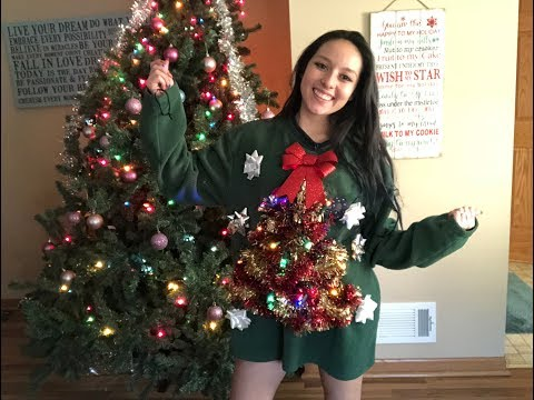 DIY Light Up Ugly X-Mas Sweater