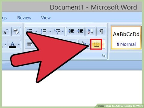 How to Add Page Borders to Microsoft Word Document