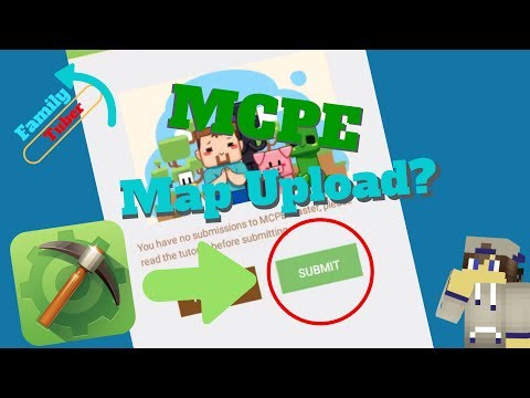 How to Upload a Map to MCPE Master (2017)