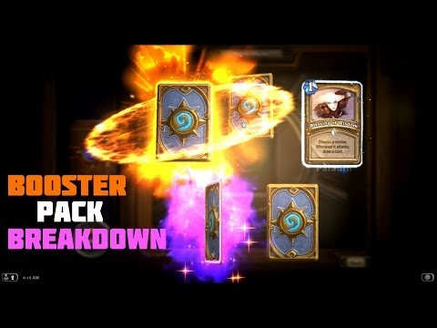 HearthStone: How Rare Legendary Cards Are! (50 Packs Opened)