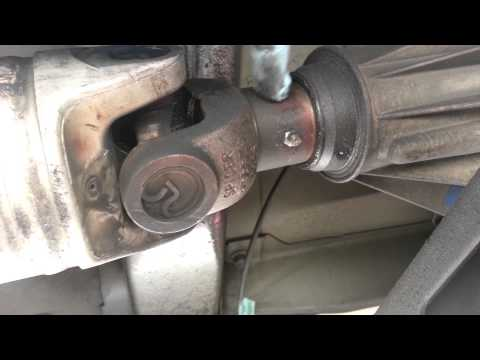 Reduce GMC Sierra Drive Shaft Clunk - Slip Yoke Grease Fitting Install - HOW TO