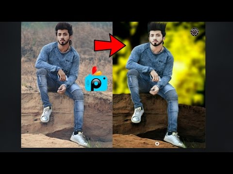 How to edit A photo In PicsArt in Hindi