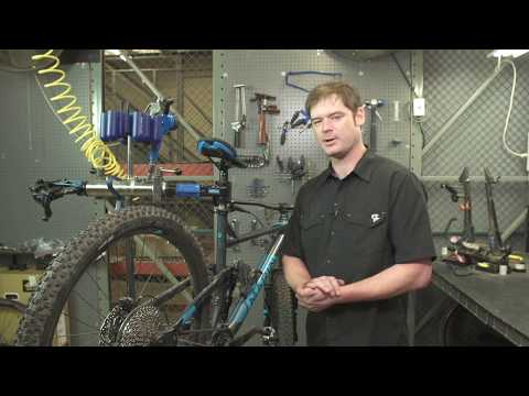 Removing and Replacing a wheel with Disc Brakes and Thru-axles