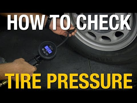 How To Check Tire Pressure  - DIY Automotive - Common Automotive Tasks with Eastwood