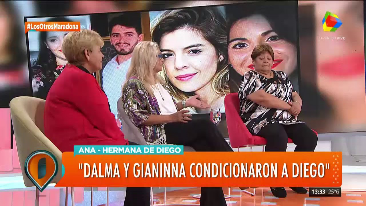 Las hermanas de Diego Maradona hablaron en Intrusos (1ra parte)
