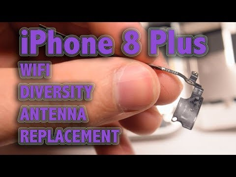iPhone 8 Plus WiFi Diversity Antenna Replacement