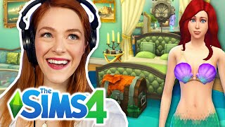 I Tried The Random Disney Princess Room Challenge In The Sims 4